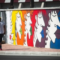 """""""rainbow humans"""" wallpainting in Galatina (LE) • <a style=""""font-size:0.8em;"""" href=""""http://www.flickr.com/photos/32339813@N04/21397593042/"""" target=""""_blank"""">View on Flickr</a>"""