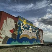 """Quando gli altri corrono io rallento, quando gli atri rallentano io mi fermo. Yapwilli 2018 Camerata Picena Italy #urbanart #streetart #murals • <a style=""""font-size:0.8em;"""" href=""""http://www.flickr.com/photos/32339813@N04/28125336048/"""" target=""""_blank"""">View on Flickr</a>"""