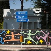 """""""rainbow humans"""" wallpainting in Galatina (LE) • <a style=""""font-size:0.8em;"""" href=""""http://www.flickr.com/photos/32339813@N04/21416855991/"""" target=""""_blank"""">View on Flickr</a>"""