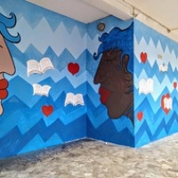 """Murales Collemarino  Yapwilli Dicembre2019/Gennaio2020 • <a style=""""font-size:0.8em;"""" href=""""http://www.flickr.com/photos/32339813@N04/49704223783/"""" target=""""_blank"""">View on Flickr</a>"""